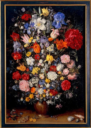 Flowers_in_a_vase_with_jewels_coins